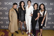 "(L-R) Ser Anzoategui, Mishel Prada, Melissa Barrera, Roberta Colindrez and Chelsea Rendon attend SCAD aTVfest 2020 - ""VIDA"" on February 28, 2020 in Atlanta, Georgia."