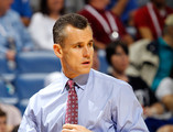 Head coach Billy Donovan of the Florida Gators coaches against the Alabama Crimson Tide during their quarterfinal game in the 2012 SEC Men's Basketball Conference Tournament at New Orleans Arena on March 9, 2012 in New Orleans, Louisiana.