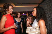 (L-R) Actress Jennifer Beals, honoree Jessica Greer Morris and actress Monique Coleman speak at the 6th annual SELF Magazine's Women Doing Good Awards at Apella on September 11, 2013 in New York City.