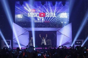SHINee Inside the YouTube Music Awards in Seoul