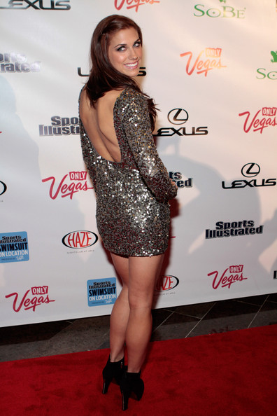 SI Swimsuit On Location Hosted By HAZE Nightclub At ARIA Resort & Casino