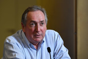 Gerard Houllier attends during the SPORTEL Monaco 2016 - Day Two at Grimaldi Forum on October 25, 2016 in Monte-Carlo, Monaco.