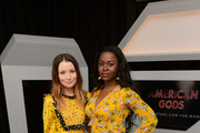 "Emily Browning and Yetide Badaki attend the STARZ American Gods ""House of the Gods"" intimate experience at SXSW on March 9, 2019 in Austin, Texas."