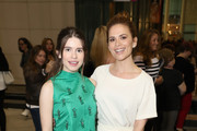 """Actors Hayley Atwell (L) and Philippa Coulthard attends the STARZ """"Counterpart"""" & """"Howards End"""" FYC Event at LACMA on May 23, 2018 in Los Angeles, California."""