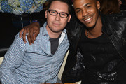 Director Bryan Singer (L) and actor Mehcad Brooks attend the STK Los Angeles 6th Anniversary Party at STK on June 4, 2014 in Los Angeles, California.