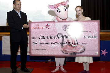 Catherine Hurlin SYTYCD's Nigel Lythgoe Awards  First Angelina Ballerina Stars of Tomorrow And Dizzy Feet Foundation National Dance Scholarship to 14-Year-Old New Yorker And Debuts PSA Campaign