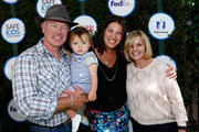 (L-R) Actor Neal McDonough, Ruve McDonough, and President and CEO of Safe Kids Worldwide Kate Carr attend Safe Kids Day presented by Nationwide 2015 on April 26, 2015 in West Hollywood, California.
