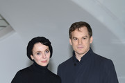 """Amanda Abbington and Michael C. Hall attend """"Safe"""" Photocall during the 1st Cannes International Series Festival on April 11, 2018 in Cannes, France."""