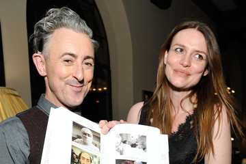 Saffron Burrows Chateau Marmont Launch Party for Alan Cumming's 'You Gotta Get Bigger Dreams' Published by Rizzoli