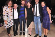 (L-R)  New York Fahion Week founder Fern Mallis, former CFDA president Stan Herman, designer Timo Weiland, Saint Louis Fashion Fund Emerging Designer Competition winner designer Daniella Kallmeyer, CFDA Fashion Incubator Advisory Board Member Gary Wassner and Saint Louis Fashion Fund chairwoman Susan Sherman pose for pictures during the Saint Louis Fashion Fund  Emerging Designer Competition at Saint Louis Union Station on October 15, 2014 in St Louis, Missouri.