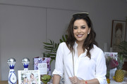 """Eva Longoria attends Sakara Life + Rothy's Celebrate """"Eat Clean Play Dirty"""" Cookbook Launch on April 16, 2019 in Beverly Hills, California."""