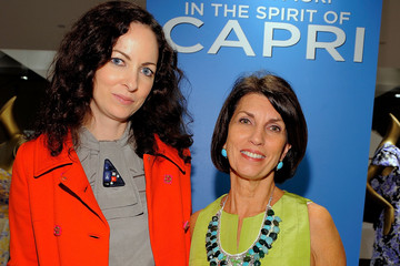 "Kerry Diamond  Saks 5th Ave Hosts Launch of Pamela Fiori's Book ""In The Spirit of Capri"""