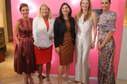 """(L-R) Stephanie Ruhle, Amanda Benchley and Bridget Moynahan attend """"Our Shoes, Our Selves"""" By Bridget Moynahan book launch hosted by Saks Fifth Avenue on April 10, 2019 at Saks Fifth Avenue in New York City."""