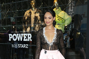 Actress Cynthia Addai-Robinson attends as Saks Fifth Avenue and Starz celebrate the final season of 'Power' on August 19, 2019 in New York City.