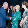 Sally Greene The Prince Of Wales Visits The Old Vic Theatre