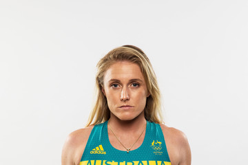 Sally Pearson Australian Olympic Games Official Uniform Launch