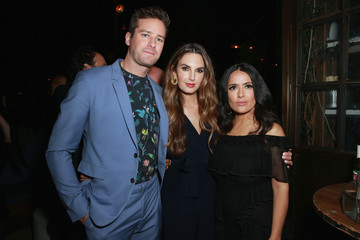 Salma Hayek Hollywood Foreign Press Association and InStyle Celebrate the 75th Anniversary of the Golden Globe Awards - Inside