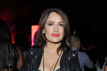 Salma Hayek Celebs at the 'On the Run Tour'