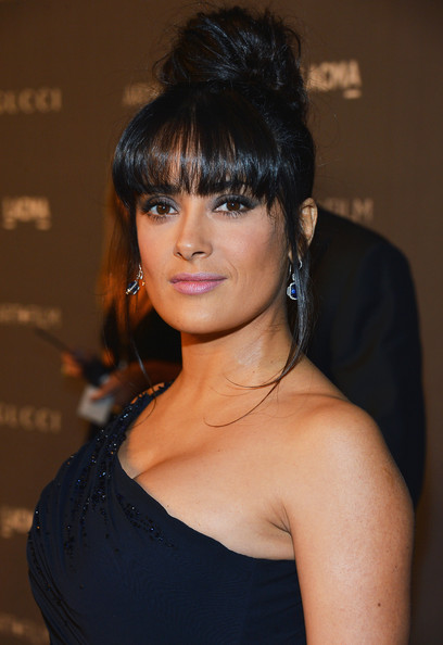 Salma Hayek - LACMA 2012 Art + Film Gala Honoring Ed Ruscha And Stanley Kubrick Presented By Gucci - Red Carpet
