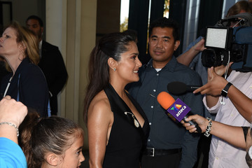 Salma Hayek Valentina Paloma Pinault Guests Attend a Screening of GKIDS' 'Kahlil Gibran's The Prophet'