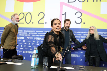"Salma Hayek ""The Roads Not Taken"" Press Conference - 70th Berlinale International Film Festival"