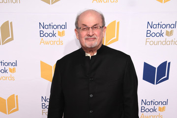 Salman Rushdie 68th National Book Awards - Arrivals