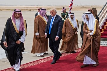 Salman bin Abdulaziz Trump Visits Saudi Arabia for His First Foreign Trip