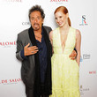 Al Pacino and Jessica Chastain Photos