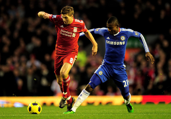 Salomon Kalou - Liverpool v Chelsea - Premier League