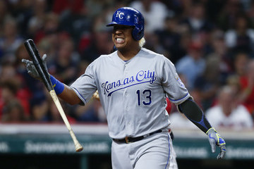 Salvador Perez Kansas City Royals v Cleveland Indians