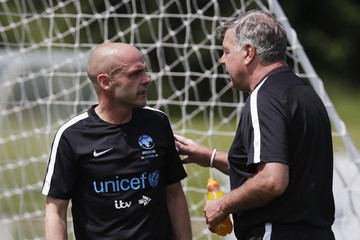 Sam Allardyce Soccer Aid For UNICEF Media Access