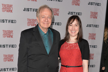 Sam Anderson Arrivals at the 'Justified' Season 5 Premiere