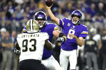 Sam Bradford New Orleans Saints v Minnesota Vikings