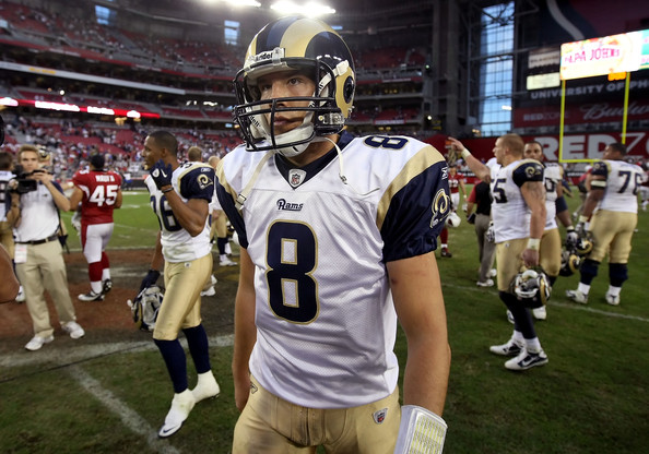 Sam Bradford may be winning game, but he isn't satisfied yet. Photo by Christian Petersen, Getty Images