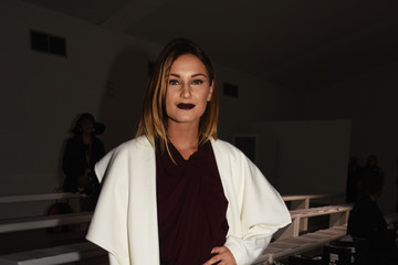 Sam Faiers Front Row at London Fashion Week