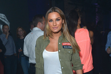 Sam Faiers The Official Idris Elba & Superdry Presentation at LCM