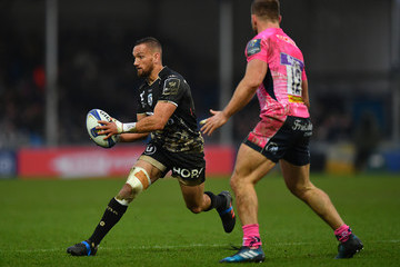 Sam Hill Exeter Chiefs v Montpellier -  Champions Cup