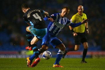 Sam Hutchinson Brighton and Hove Albion v Sheffield Wednesday - Sky Bet Championship