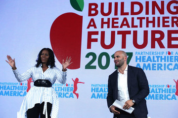 Sam Kass Former First Lady Michelle Obama Speaks at the Partnership for a Healthier America Summit