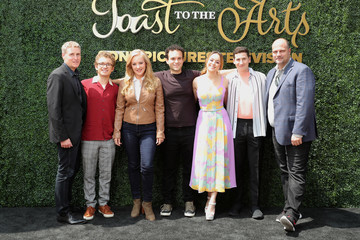 Sam Lerner Hayley Orrantia Sony Pictures Television's Emmy FYC Event 2019 'Toast to the Arts'