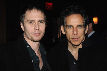 """Sam Rockwell The Cinema Society With Chrysler & Bally Host The Premiere Of """"Stand Up Guys"""" - After Party"""