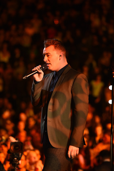 Sam Smith Pictures Z100 39 S Jingle Ball Show Zimbio