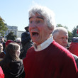 Sam Waterston Activists Hold Climate Change Rally At U.S. Capitol