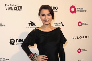 Samantha Barks Celebrities Attend an Oscar Viewing Party
