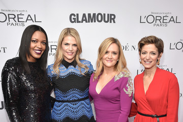 Samantha Bee Anne Marie Nelson-Bogle Glamour Celebrates 2017 Women of the Year Awards - Arrivals