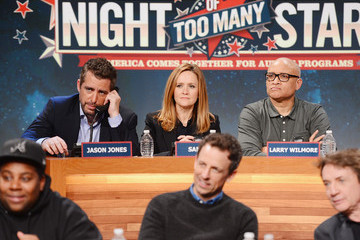 Samantha Bee Jason Jones Night Of Too Many Stars Live Telethon 2015