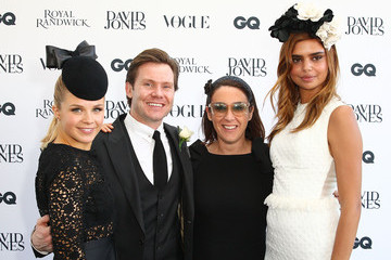Samantha Harris Celebrities Attend Australian Derby Day