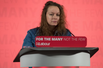 Samantha Morton Jeremy Corbyn Continues Campaigning for the Labour Party in Yorkshire