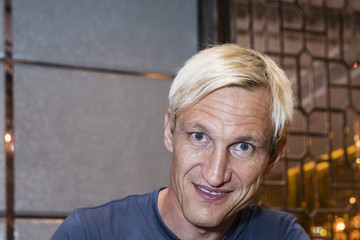 Sami Hyypia Liverpool FC Training Session