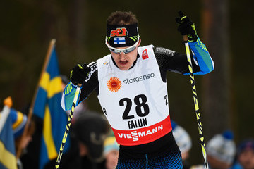 Sami Jauhojaervi Men's and Women's Cross-Country Skiathlon - FIS Nordic World Ski Championships